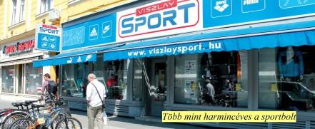 Újpesten 1981-ben nyitott meg a Viszlay Sport e6d88f1fd7